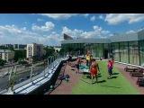 GOLDS FITNESS представляет: летние тренировки на крышах