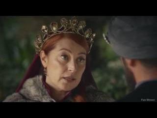 Хюррем празднует победу над Мустафа 18 серия 4 сезон