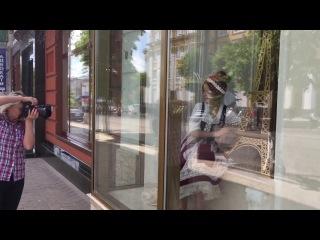 Саша Старинец (Бекстейдж) в стилизованном фотопроекте