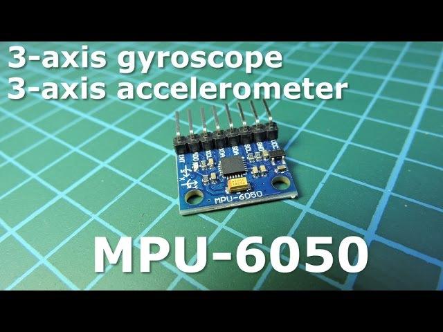 MPU-6050 - Гироскоп акселeрометр