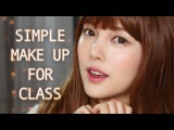 Simple Makeupfor Class(With subs)