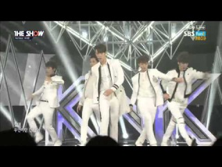 [Debut Stage] 160301 KNK (크나큰) - Heart (마음씨) + Knock @ 더쇼 The Show