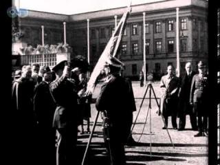 Kongres FIDAC. Wręczenie sztandaru 9 pułki strzelców konnych im. Pułaskiego
