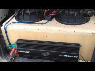 Замер мощности усилителя Alphard AE 5500 by BassStudio