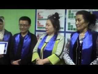 G-TIME CORPORATION 28.04.2016 г. Вручение 800 000 тенге партнеру из Кыргызстана