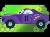 ✔ Araba çizgi filmi. Akıllı arabalar. Yarış arabası. Eğitici çizgi film. Tiki Taki çizgi filmleri