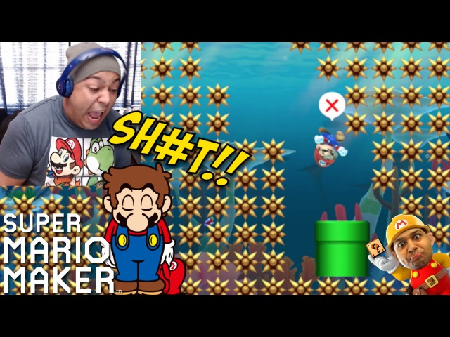 ALL RAGE LEVELS!!? WHY? [SUPER MARIO MAKER] [12]