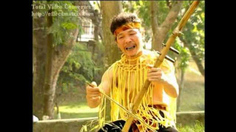 Kni Dan Cay tre Viet nam Bamboo instrument