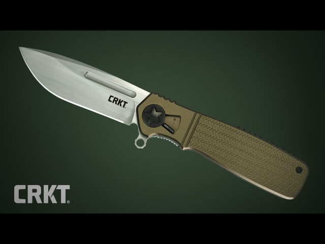CRKT Homefront™ Knife with Field Strip Technology   Design by Ken Onion