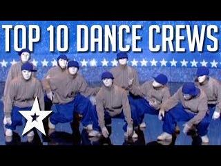 Best Ever Dance Crews on Got Talent! | Got Talent Global
