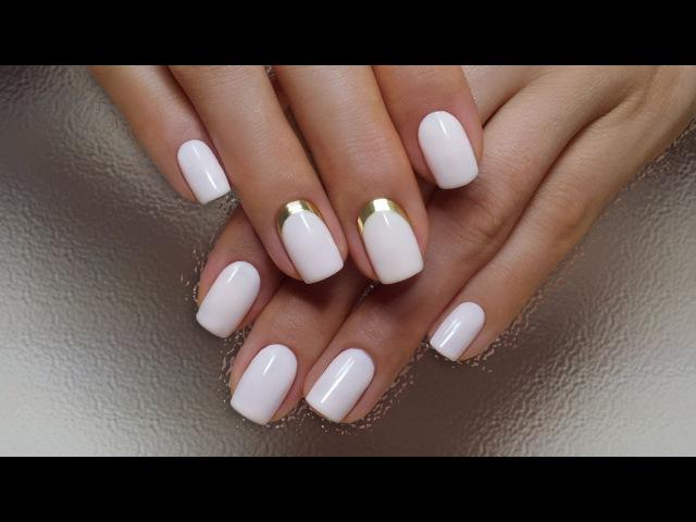 Дизайн ногтей гель-лак shellac - Дизайн MINX (видео уроки дизайна ногтей)