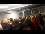 Родительское собрание ДЮСШ №7 на ледовой арене