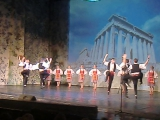 Пионерия. Греческий танец
