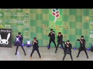 [FANCAM] [03.04.16] - Мероприятие в честь выхода первого японского альбома в Осаке - Free live