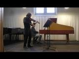Bach Gambesonate g-Moll BWV1029 (Igor Andreev &amp Javier Lopez)