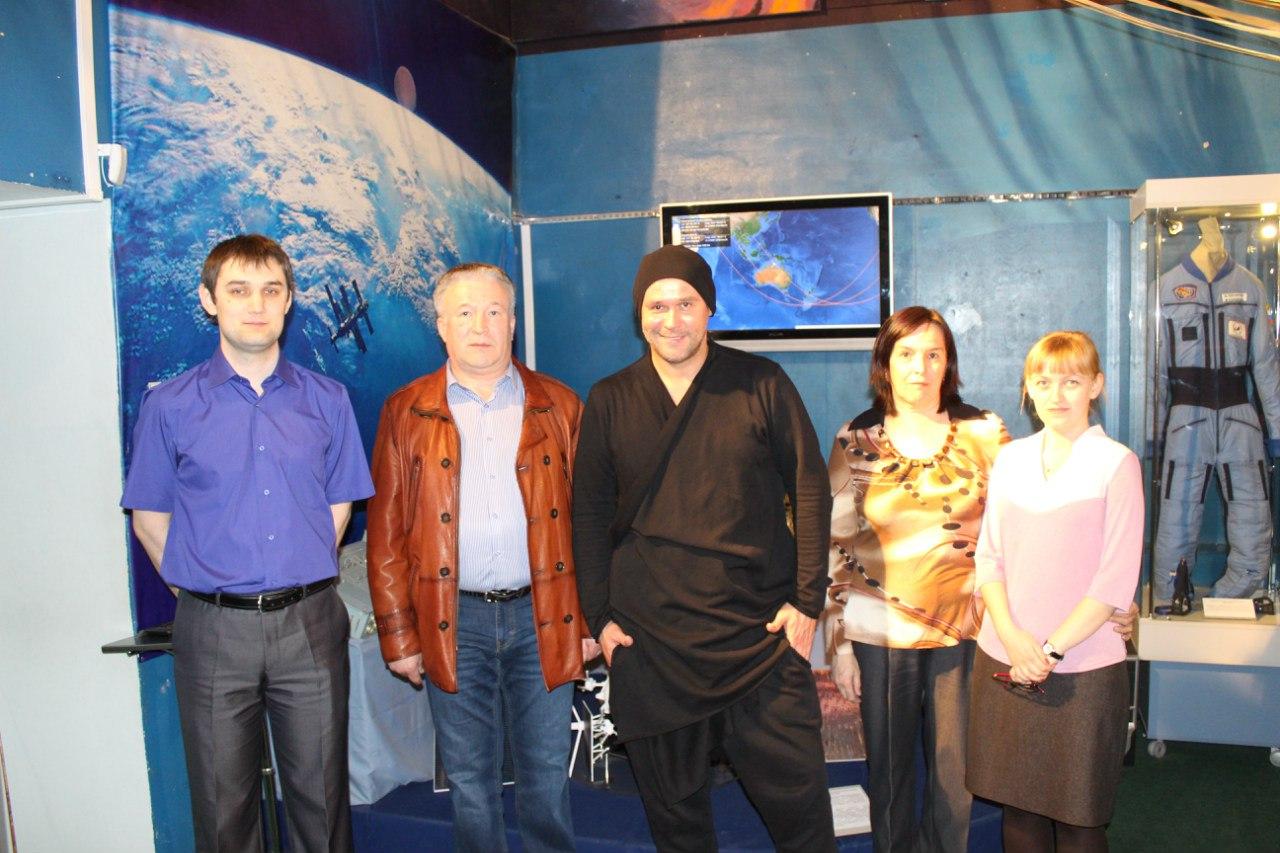 Наш музей посетил Максим Аверин!