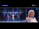 """Fiordaliso в образе Bonnie Tyler -""""Total eclipse of the heart"""" (Tale e Quale Show, 2013)"""