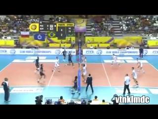 Топ-25 красивейших моментов в волейболе! (1 часть)