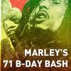 MARLEY'S 71 B-DAY BASH - 6/02/16 @МИЧУРИН
