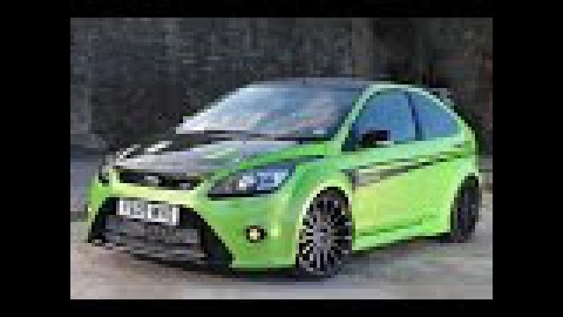 Динамическая езда от первого лица | Разгон | Звук | Ford Focus RS MK2 动态驾驶中的第一人|加速|音响|