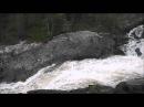 Водопад Куми-порог на реке Войница, северная Карелия