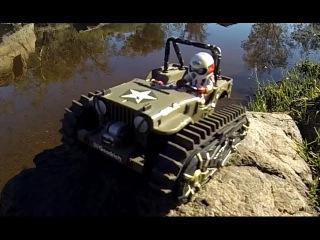 Tamiya Wild Willy with Tank Tracks