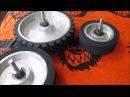 Доработка китайских колёс для гриндера