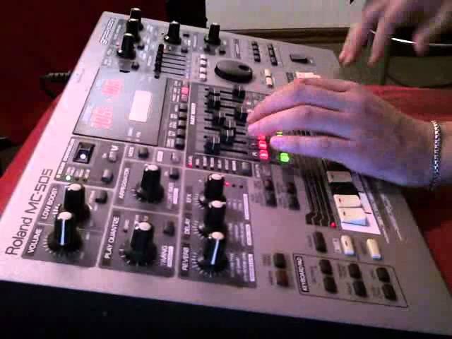 Roland MC-505 Deep\Dub Techno