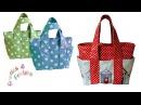 Wie man eine Tasche näht - Schritt für Schritt Nähanleitung (Box Bag Schnittmuster)