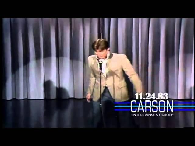 Jim Carrey imitating Elvis Presley