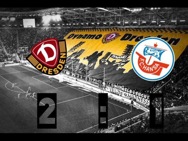 Ganzes Spiel | SG Dynamo Dresden - F.C. Hansa Rostock 2:1 | 3. Liga | 23.05.2015
