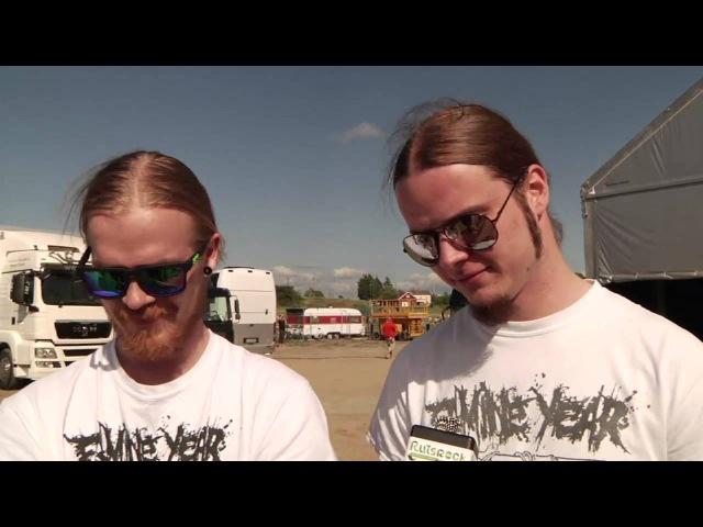 Stam1na's Kai Pekka Kaikka Kangasmäki Pyry Pyrde Hanski @ Ruisrock 2014 interview