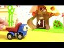 Vidéo pour enfants de Leo le camion construction d'une aire de jeux