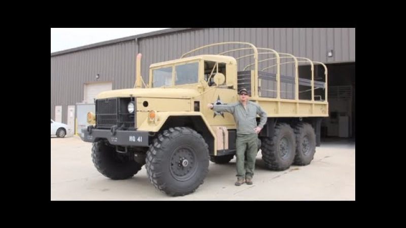 1968 M35a2 Deuce and a Half Walk Around, Startup and Ride!
