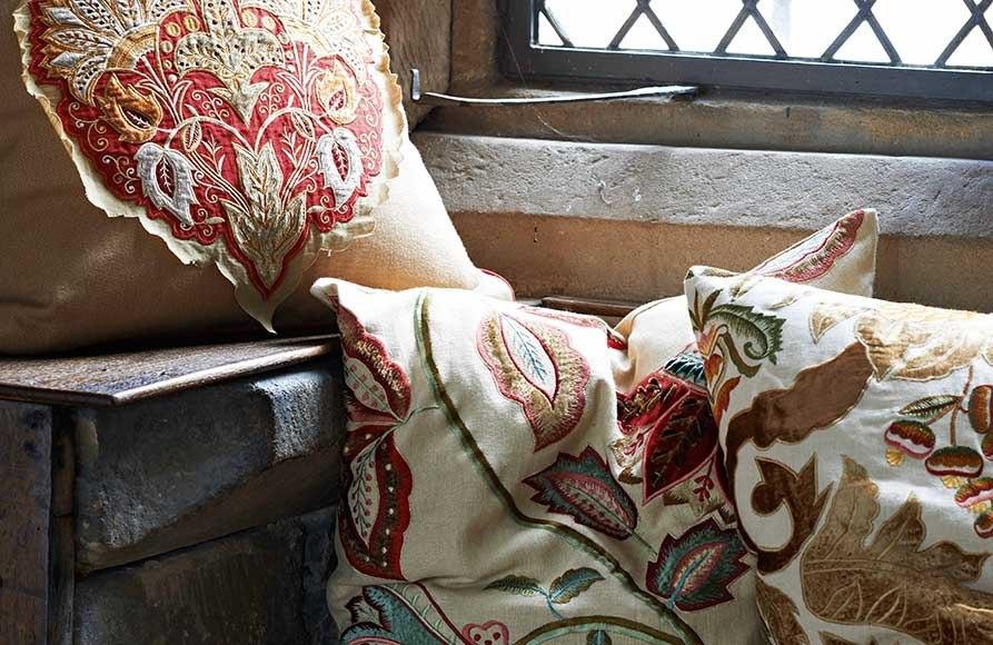Элитные английские ткани для обивки и пошива штор Mulberry Спрашивайте в Les Stores #mulberry