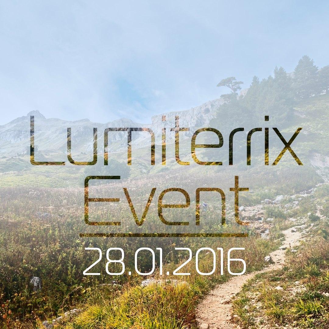 Афиша Сергиев Посад Lumiterrix Event 2016-01-28