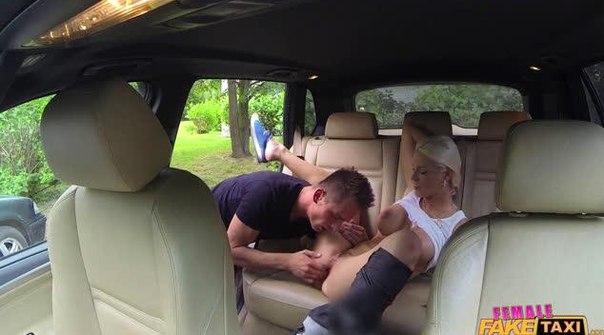 FemaleFakeTaxi – Blanche Bradburry – Busty Blonde Rides Studs Cock