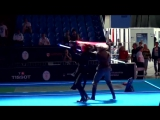 Действительно зрелищный бой на световых мечах (6 sec)