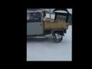 Ока. Ваз-1113 самодельный пикап - тест драйв