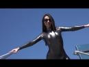 Pantyhose, Nylon, Silk Fetish ∞ amateur girl spandex latex leggins body гимнастка в костюмчике в леггинсах в обтяжку лосины секс