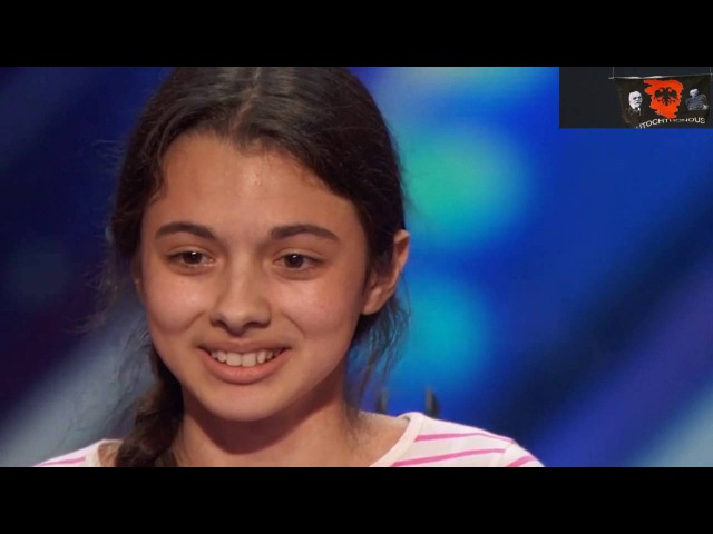 Laura Bretan 13-Year-Old Opera Singer Gets the first Golden Buzzer - America's Got Talent 2016
