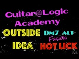 Fusion minor Outside lick - Guitar@LogicAcademy