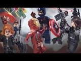 LEGO Captain America  Civil War Part 1