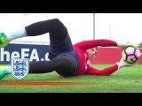 Reflex, Technique &amp Vision - England U21 Goalkeeper Special Inside Training
