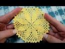 Crochet motif Crochet doily Вязание крючком Мотив крючком