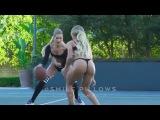 Девушки в баскетбол, оказывается, вечно можно смотреть не только на три вещи...