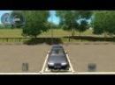Въезд в гараж автодром 3D Инструктор