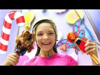 Игры с Винкс. Кукла Монстер Хай и лучшая подружка Света спасают Блум. Видео с куклами для детей.