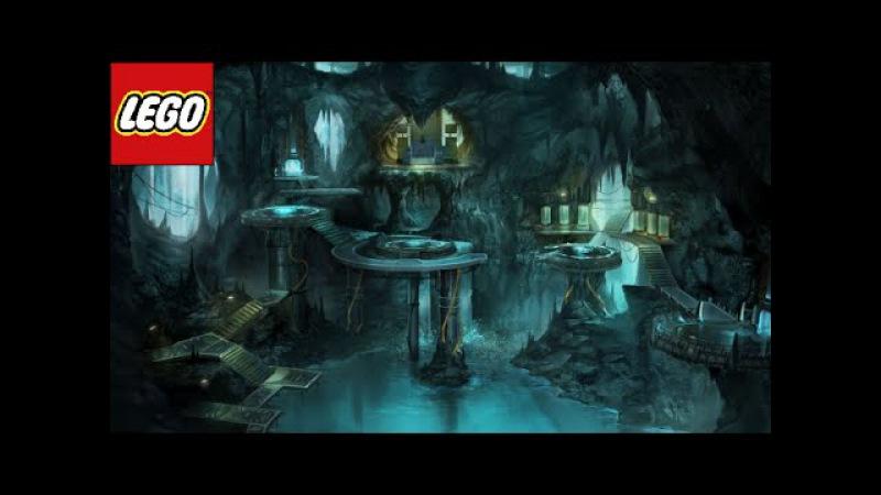 лего диорама Бэт пещера (все части)