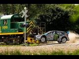 HOONIGAN Ken Block's GYMKHANA NINE Raw Industrial Playground